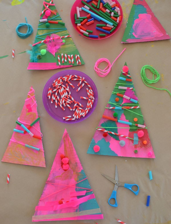 craft christmas decorations ideas 20 easy craft for bright 3755