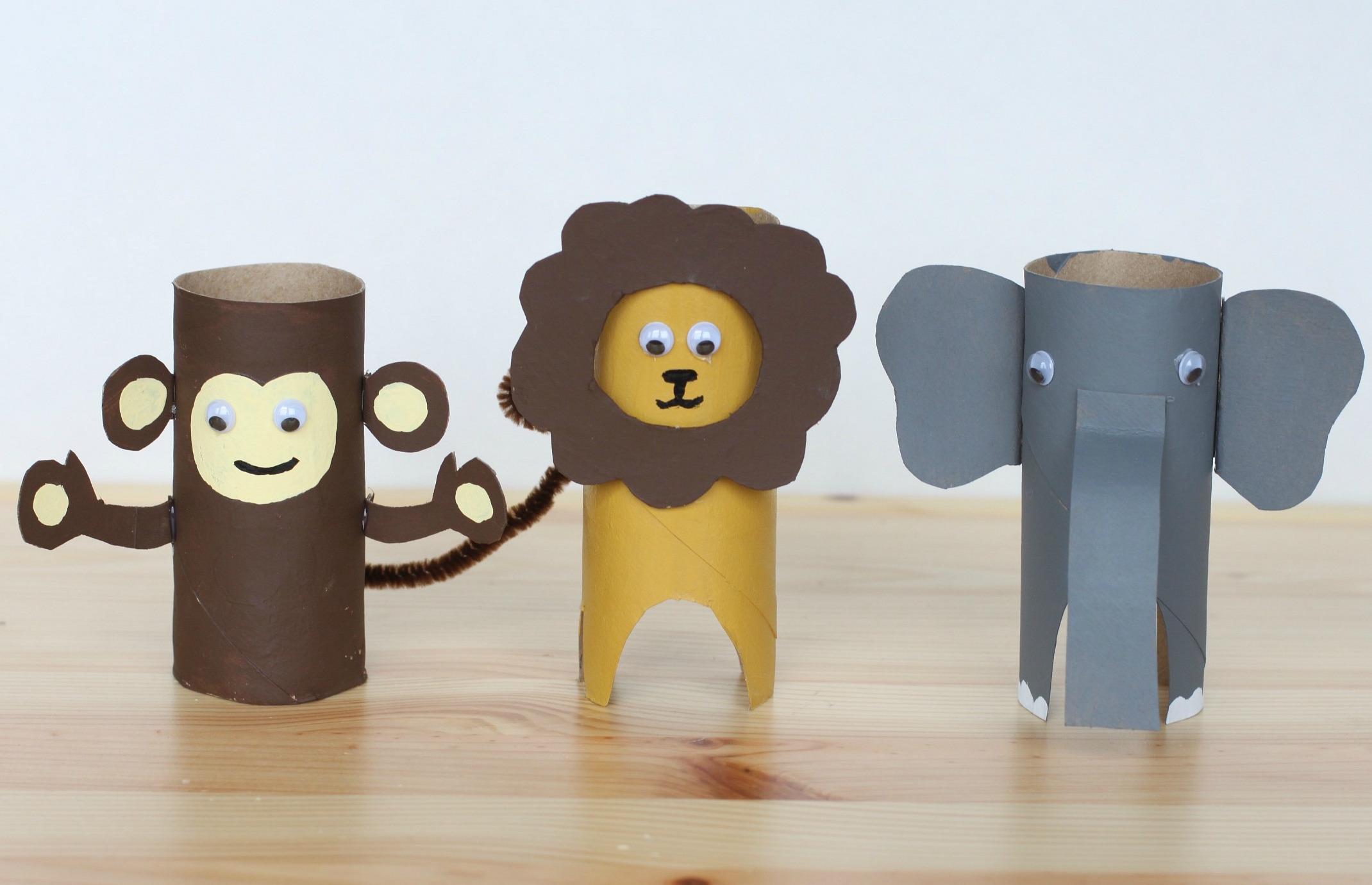 10 Easy Cardboard Crafts For Kids Bright Star Kids