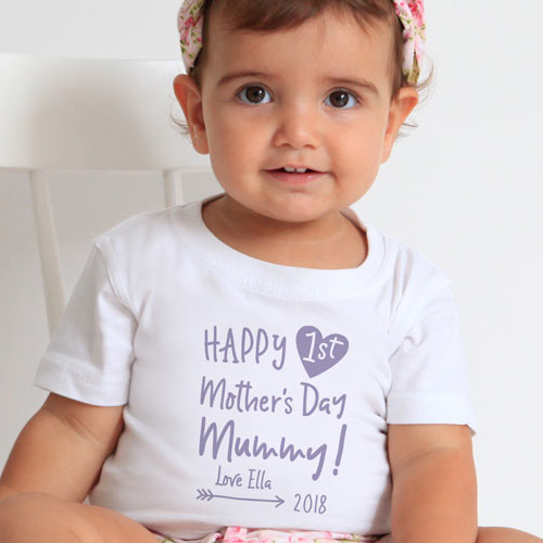 Personalised t shirts personalised baby gifts cute kids clothes mothers day clothing negle Images